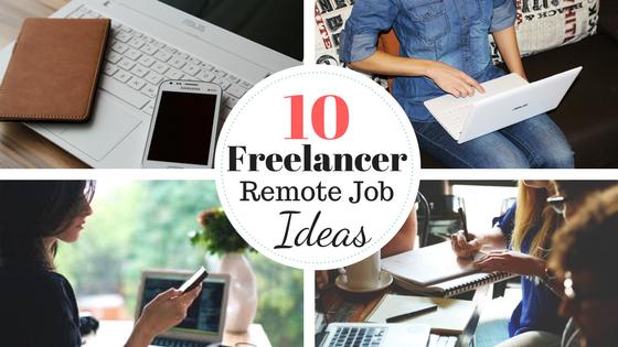 10 remote job ideas